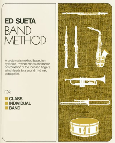 M-109CD - Ed Sueta Band Method Trumpet Book 1 - Book and Online Audio