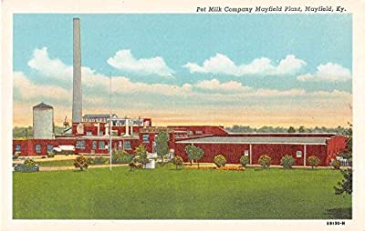 Mayfield Kentucky Pet Milk Co Plant Antique Postcard J53397