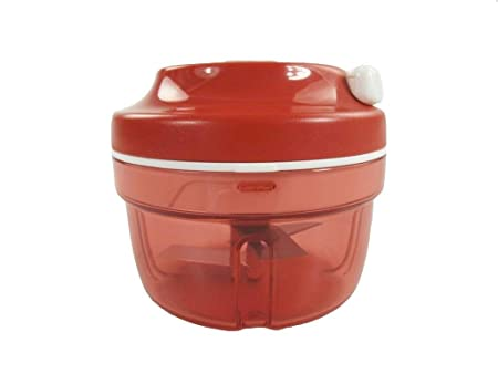 Tupperware Chef Turbo-Chef D158 Cortador de Cebolla, Rojo, P 20865