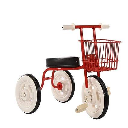 Frzlh sencillo triciclo niños bicicletas bicicleta vintage de bebe 1-3 - 4 años de