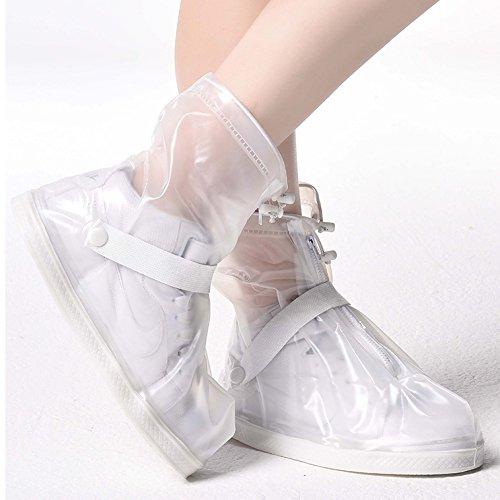 zapato transparente del para zapatos Cubierta YMTECH Cubiertas y antideslizante Impermeable 7WRpW6XqF