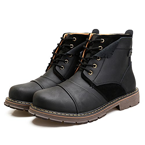 ENLEN&BENNA Men's Work Boots Fashion Casual Boot Motorcycle Boots Ankle Boots Dress Boots Combat Boots Cap Toe by ENLEN&BENNA (Image #7)