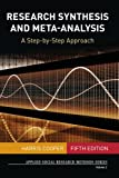 Research Synthesis and Meta-Analysis 5th Edition