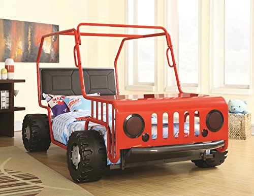 Jeep Car Bed Red