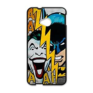 Batman Joker HTC One M7 Cell Phone Case Black Decoration pjz003-3807989