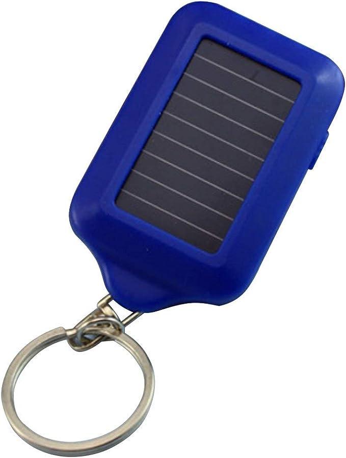 20x Bright Mini White Keychain LED Light Lamp Key Ring Flashlight Torch