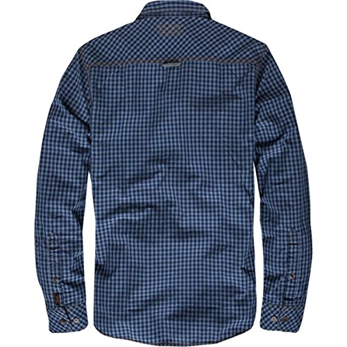 Pme legend blau kariert hemd