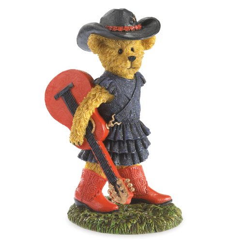 (Boyds Bears Country Music - Paisley - Country At Heart Bear)