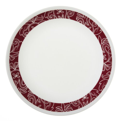 "Corelle Bandhani 1107738 Lunch Plate 8.5"" - 6 piece set"