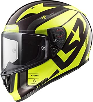 Ls2 Motorradhelm Arrow C Sting Wineberry Schwarz Gelb Größe Xl Auto
