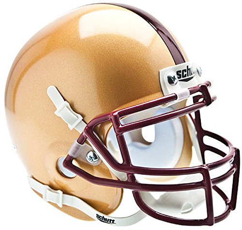 (Schutt Boston College Eagles Mini Authentic Helmet - NCAA Licensed - Boston College Golden Eagles Collectibles)