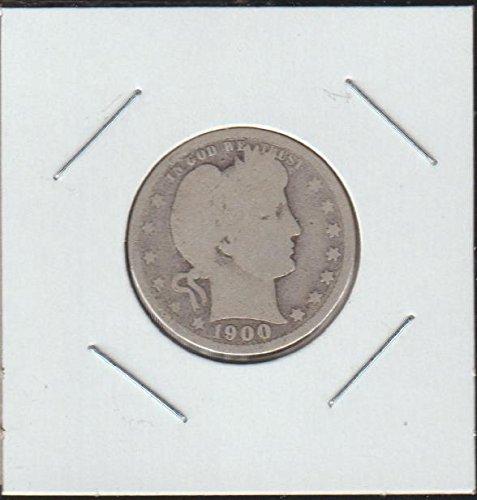 1900 Barber or Liberty Head (1892-1916) Quarter Good