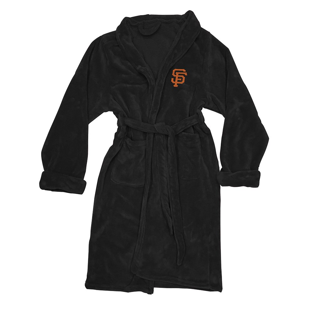 One Size The Northwest Company MLB San Francisco Giants Mens Bathrobe Multicolor