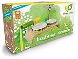 Green-Tones-Award-Winning-Beginner-Drum-Set