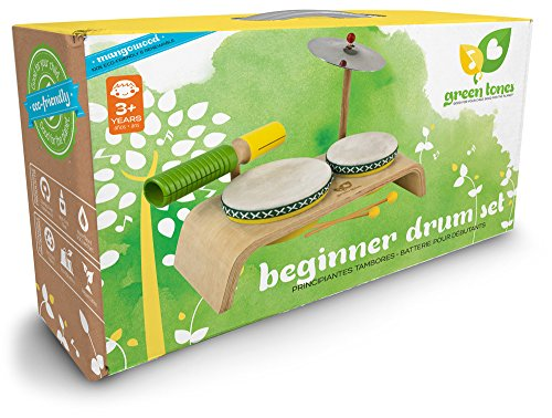 Green-Tones-Award-Winning-Beginner-Drum-Set