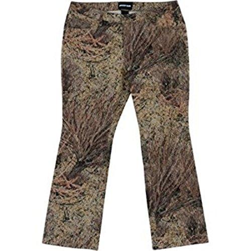 Mossy Oak Women's 5-Pocket Jean, Brush Camo Pattern (10)
