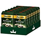 JACOBS KRONUNG WHOLE BEAN AROMA BOHNEN COFFEE CASE 12 x 500g