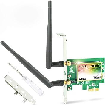 Ubit Ac Bluetooth Wlan Karte 1167 Mbp Computer Zubehör