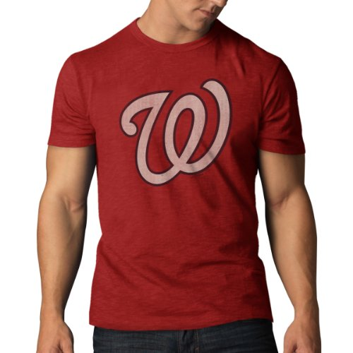MLB Washington Nationals Scrum Tee, Rescue Red, (Mlb Shirt)
