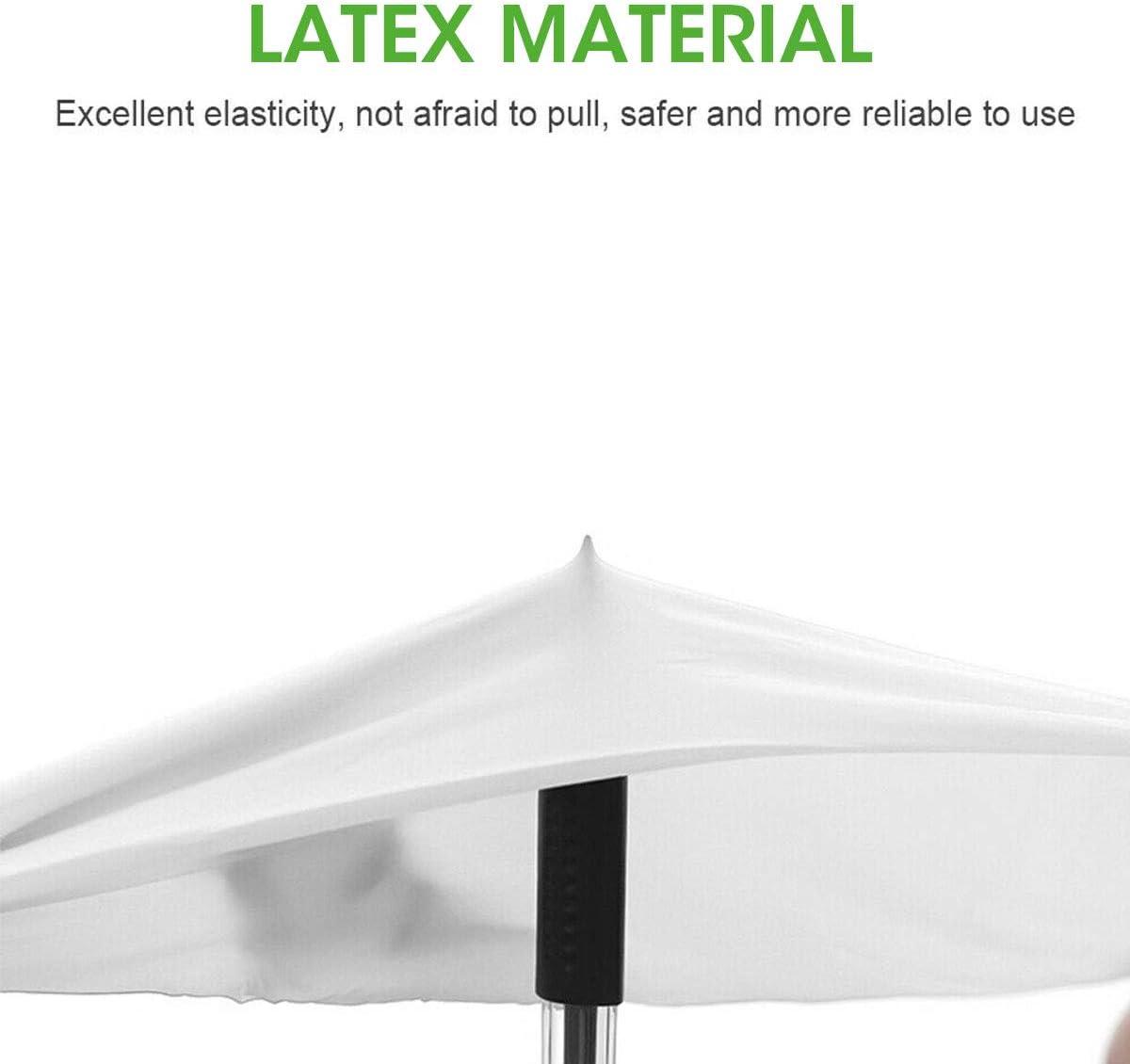 Charminer Guantes el/ásticos de l/átex Transparentes Guantes PVC Impermeables y Resistentes al Polvo Guantes desechables para Cocina Metro Oficina