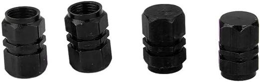 Bouchons valve X4 pour voiture auto vélo moto de couleurs BLANC