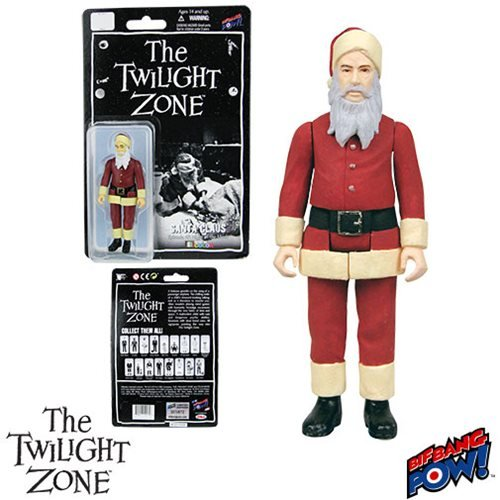 The Twilight Zone Santa Claus 3 3/4-Inch Figure In Color (Claus Santa Colors)