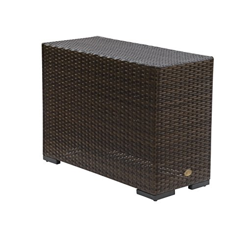 Vida Outdoor Pacific Wicker End Table by Vida Outdoor