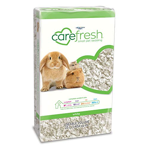 Carefresh White Small pet Bedding, 23L (Pack May Vary) ()