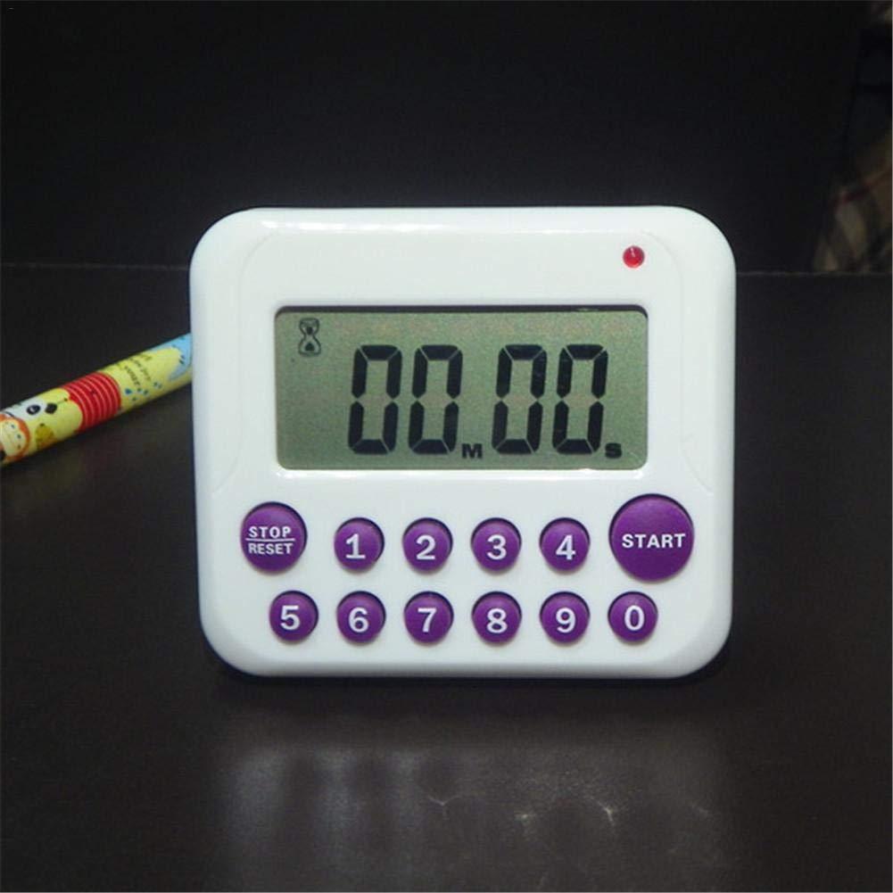 Compte /à Rebours 100 Minutes Haodene Minuteur de Cuisine Electronique Minuterie Num/érique avec Sonore Ecran LCD