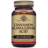 Solgar – Cinnamon Alpha Lipoic Acid, 60 Tablets For Sale