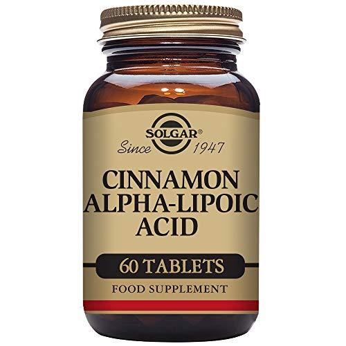Solgar – Cinnamon Alpha Lipoic Acid, 60 Tablets