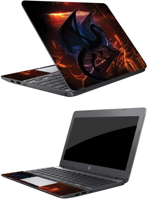 """MightySkins Skin Compatible with HP Chromebook 11 (2018) 11.6"""" - Fire Dragon 