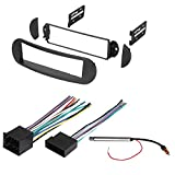 CAR STEREO RADIO DASH INSTALLATION MOUNTING KIT W/ WIRING HARNESS AND RADIO ANTENNA ADAPTER FOR SELECT VOLKSWAGEN BEETLE VEHICLES