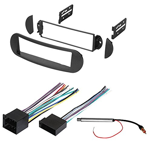 h Installation MOUNTING KIT W/Wiring Harness and Radio Antenna Adapter for Select Volkswagen Beetle Vehicles ()
