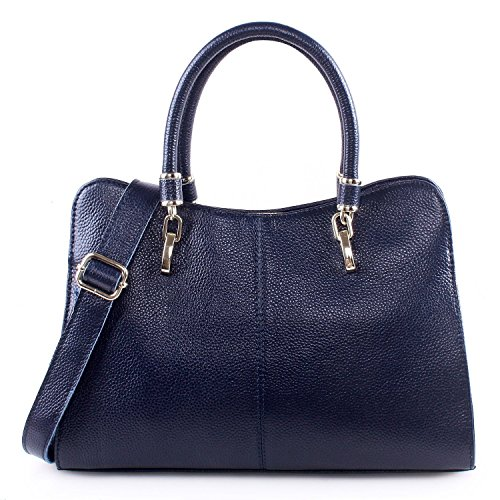 AINIMOER-Leather-Shoulder-Bag-Top-handle-Crossbody-Handbag-Purse-Messanger