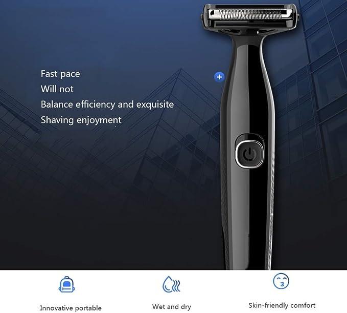 YHDD Maquinilla de Afeitar eléctrica for Hombres, afeitadora ...