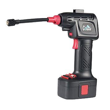 OOLIFENG Portátil Compresor de aire, Auto Digital Inflador de neumáticos, Eléctrico Bomba de neumático 12V 150PSI: Amazon.es: Coche y moto