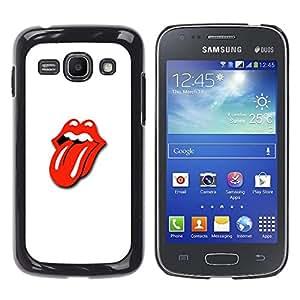 Stuss Case / Funda Carcasa protectora - LABIOS BESO Y LENGUA - Samsung Galaxy Ace 3