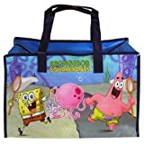 Spongebob Squarepants Large Non-Woven Gym Bag Matte Printing with Zipper