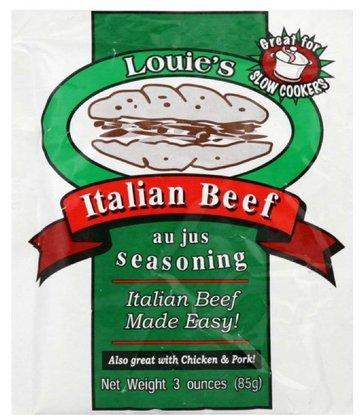 Louie's Italian Beef Seasoning, 3 OZ (Pack of 24) (Louie Italian Beef compare prices)