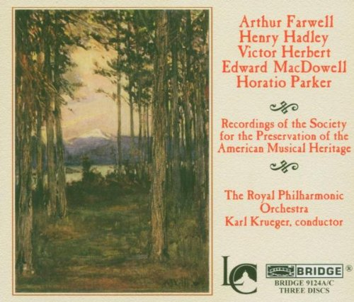 Recordings of The Society for the Preservation of the American Musical Heritage, Royal Philharmonic Orchestra, Karl Krueger, conductor (American Musical Cd)
