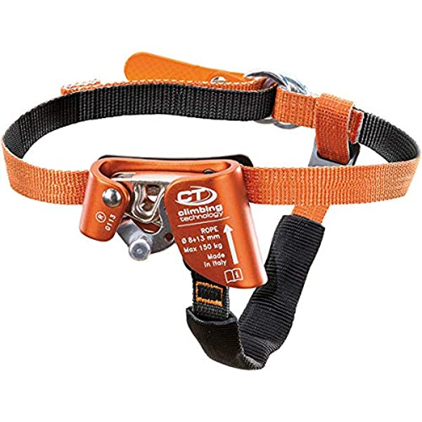 Outdoor Left//right Foot Ascender Riser Rock Climbing Mountaineering Equipment Mo