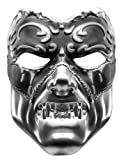 Evil Masquerade Mask Adult (Silver)
