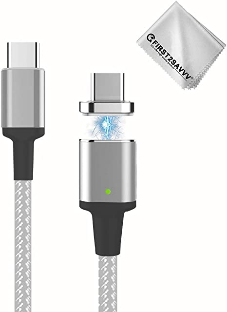 First2savvv MC4 Magnetic USB C Charging Cable For MacBook