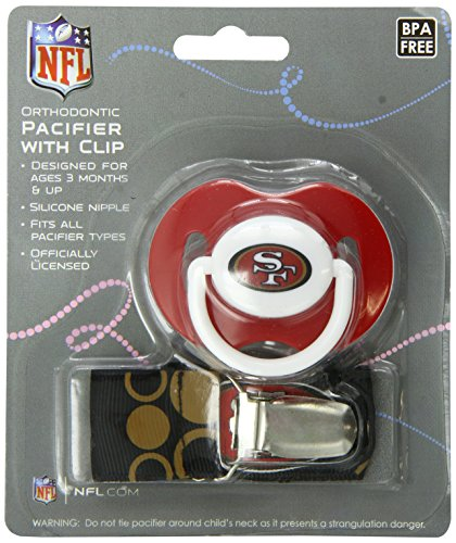 Baby Fanatic Pacifier Francisco 49Ers
