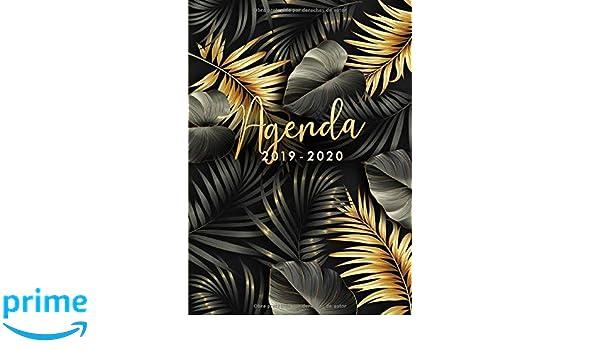 Agenda 2019 2020: Agenda 2019/20 Semana Vista, Organiza tu ...