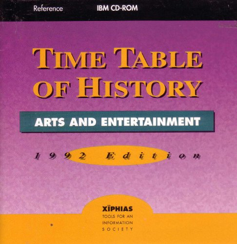 1993 Art - Time Table of History: Arts & Entertainment 1993-94 Edition