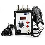 858D+ Hot Air Soldering Station 110V 700W LED Digital Solder Heat Gun Rework ESD SMD SMT Welding Repair