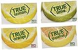 True Lemon, Lime, Orange & Grapefruit Bulk Packets Assorted 256 Ct