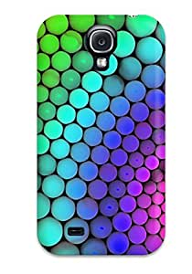 Top Quality Case Cover For Galaxy S4 Case With Nice Molecular Geometry Appearance